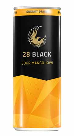 28 Black Sour Mango-Kiwi